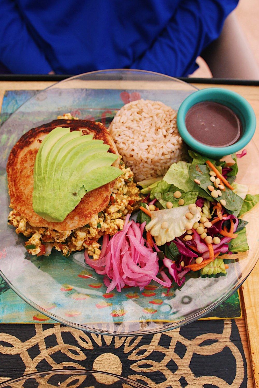 Breakfast sandwich from Co.Con Amor