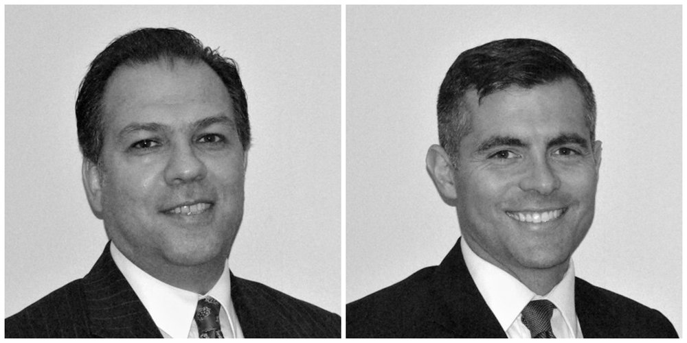 The Managing Principals of Benedetti, Gucer & Associates - Bob Gucer and Jaime Benedetti.