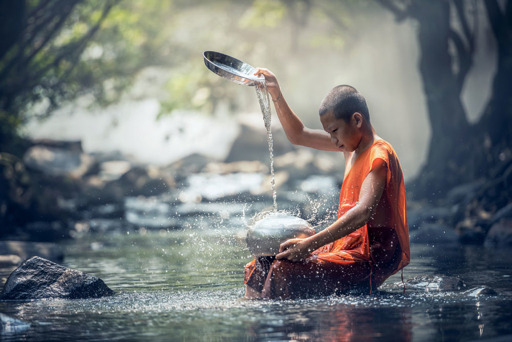 We will learn about the ancient forest monk tradition in Thailand and how a forest monk on Koh Phangan fought to preserve nearly 50% of the island in a protect national park reserve.