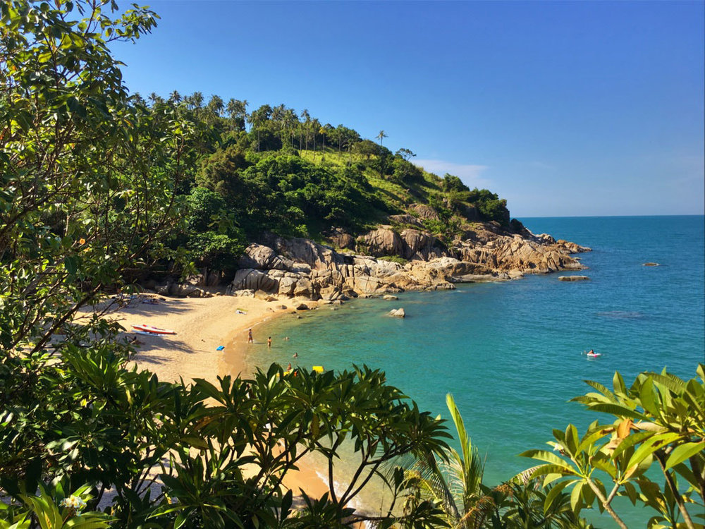 Why Nam beach, Koh Phangan's best place to dance, swim and make new friends.