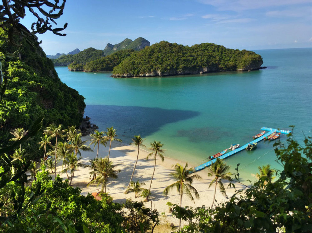 We will enjoy an afternoon swim at the spectacular powdery white sand beach at Koh Wua Talap. From this beach, we will do hikes to the viewpoint and the crystal caves inside the mountain above the beach.