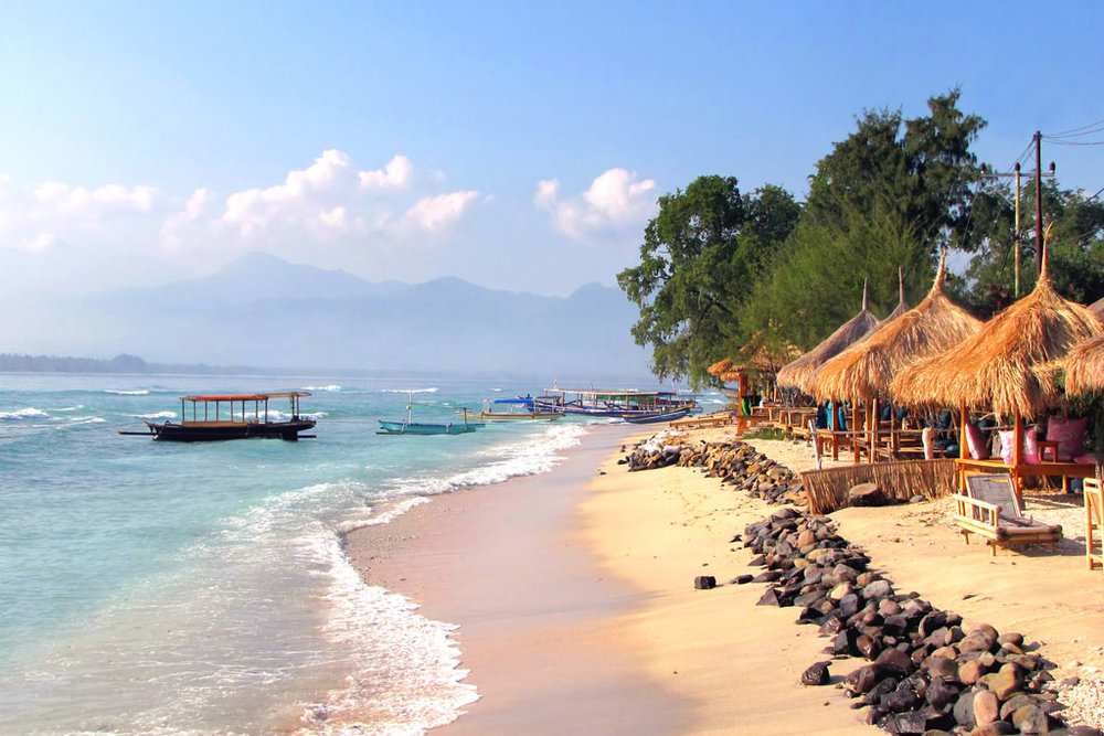 We will spend the morning at Gili Air where you can surf or enjoy scuba diving on the local reefs.