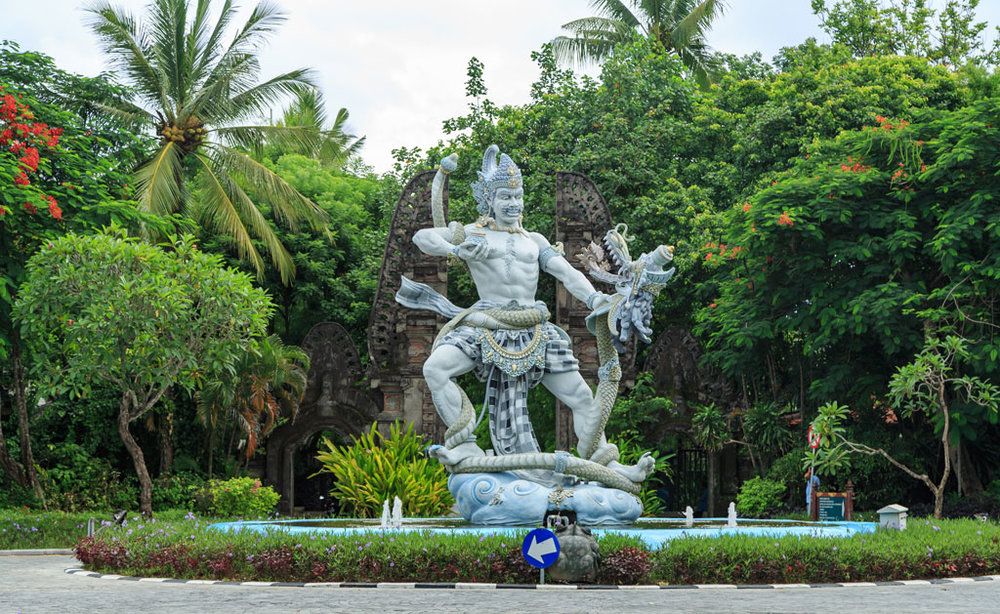 We will do a guided tour of Bali's Botantical Gardens, the largest botanical garden in Indonesia.