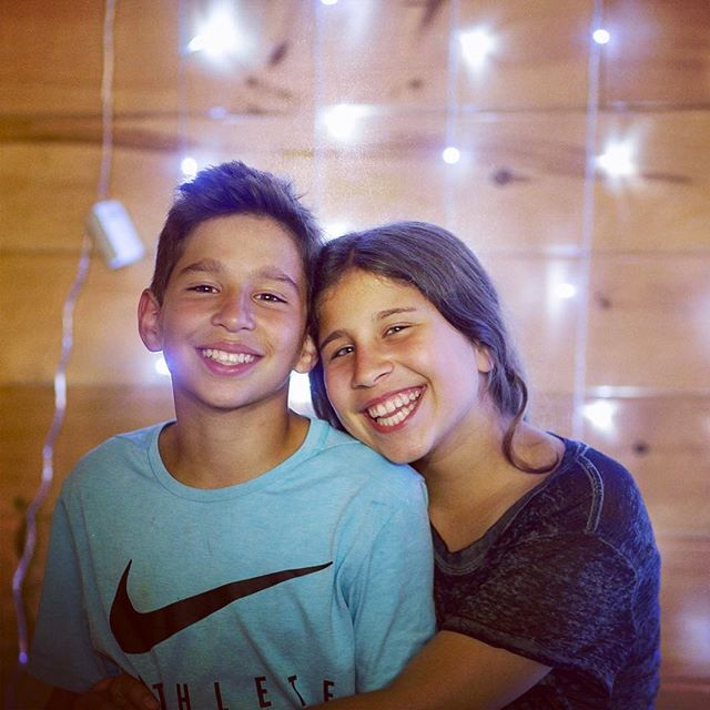 Warning!! Warning!! Two more teenagers in the house. Happy 13th Birthday Brandon & Jessie!