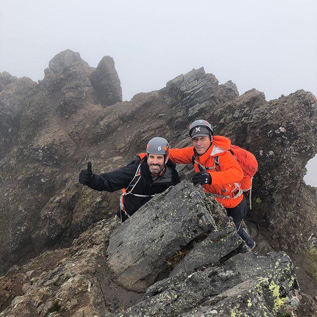 Ecuador Day 2 Acclimatization Hike/Climb on the Summit of Ruminahui (15,459 feet).