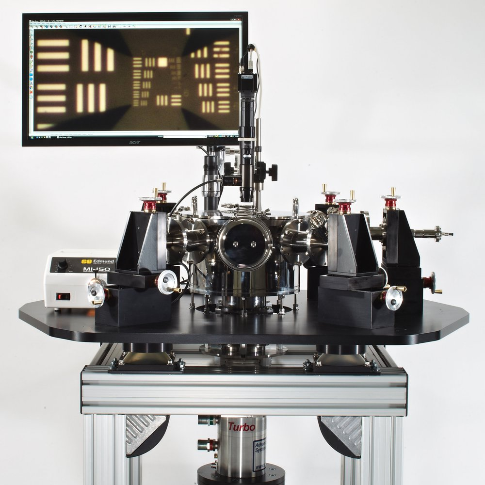 Closed CycleProbe Station - -15K, 10K, 8K, and <4K Base Temperatures -High Vacuum Stainless Steel Chamber-Fast Cooldown Options, <2.5 Hours-Low Cost Cryogen-Free Operation