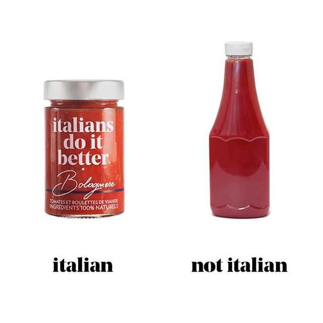Italian, not Italian 😜🍅 #bolognese #food #pasta #italiansdoitbetter#italian#natural#ingredients #meatballs