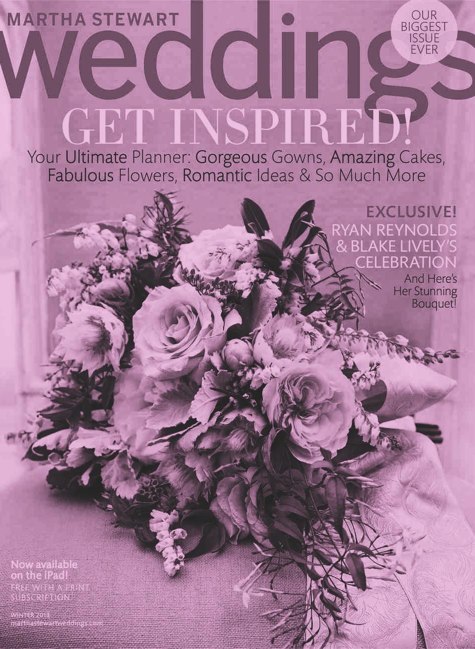 Martha Stewart Weddings - November Issue 2014