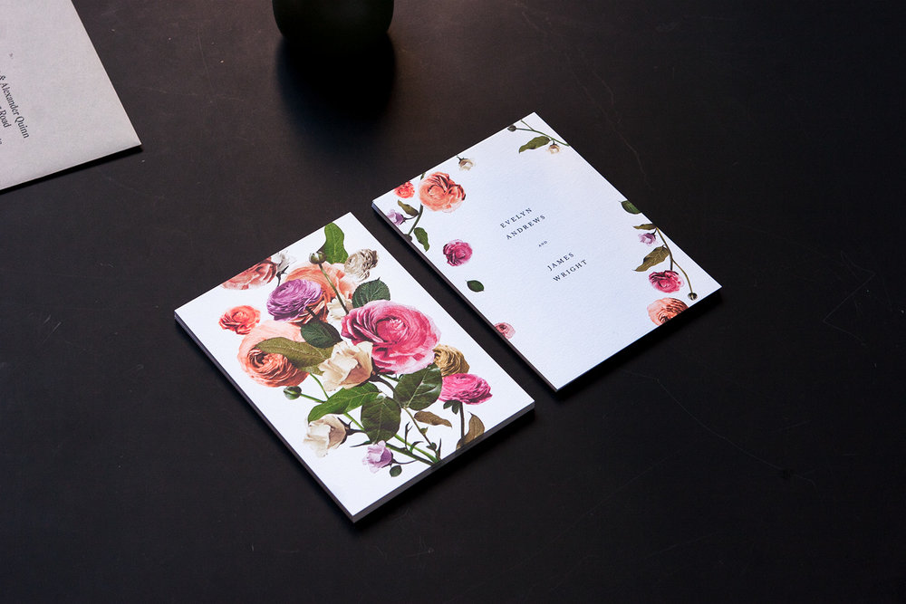 Floral Invitations