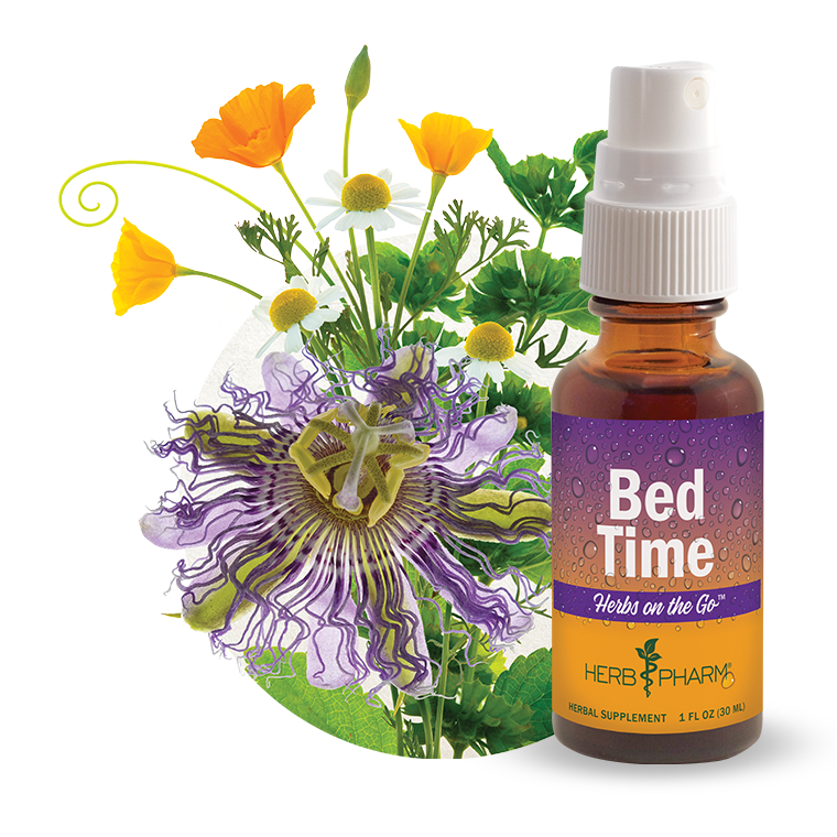Herbs on the Go: Bed Time
