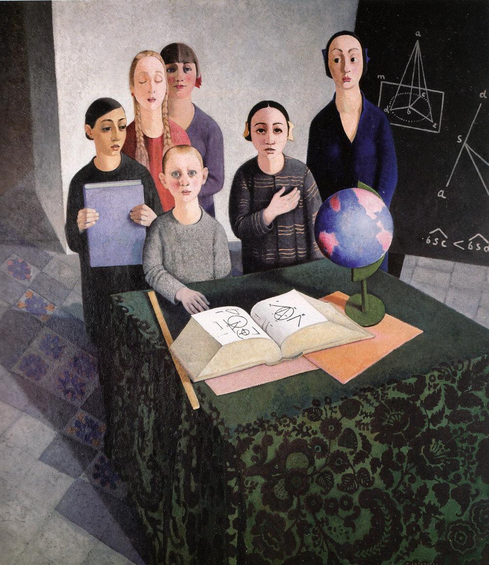 Felice Casorati, Gli scolari