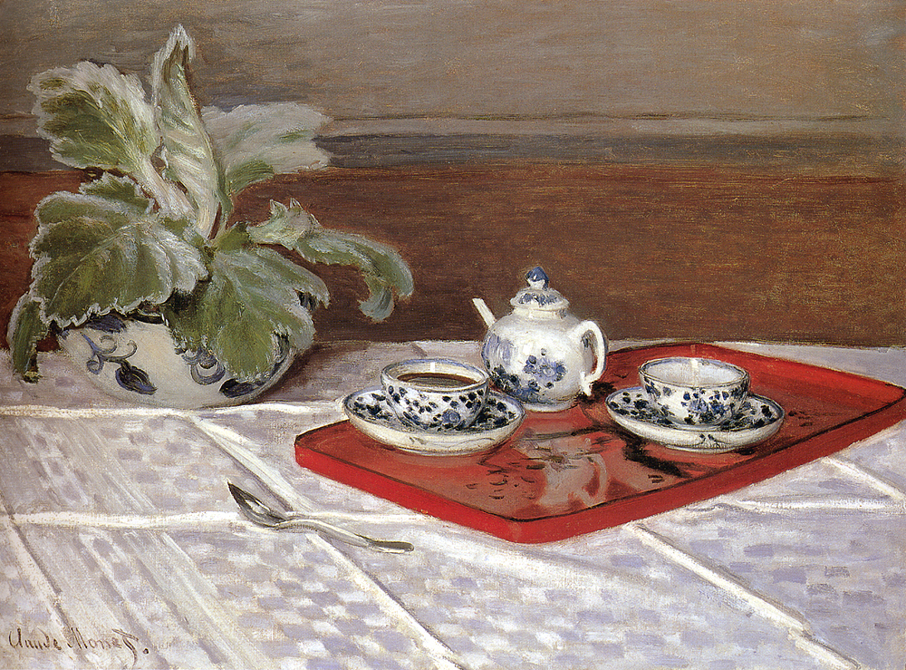 Claude Monet, The tea set