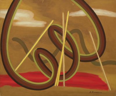 Mental Landscape  Oil on canvas board 20 x 24 inches  Inquire