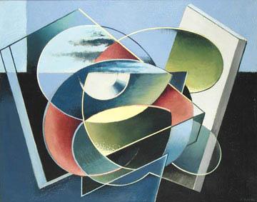 Frederick Kann: # Creative Spirit, Visionary Mind # November 1 – December 22, 2007 <alt: Abstract curving shapes</>