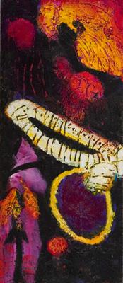 "<b>William Scharf: <br>Dark / Light</b> <br><span class=""grayfont"">October 7 – November 5, 2005</span>"