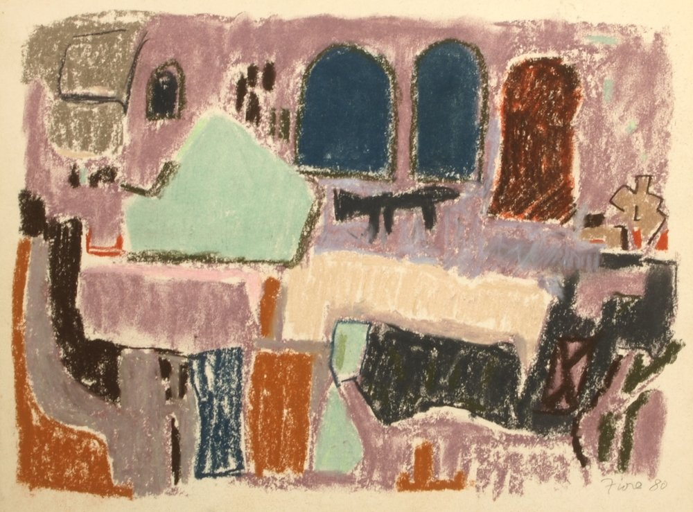 Untitled,  1980 Pastel on paper 9 x 12 inches  Inquire