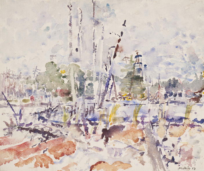Fulton Chain, Adirondacks,  1912 Watercolor on paper  13 7/8 x 16 3/8 inches  Inquire