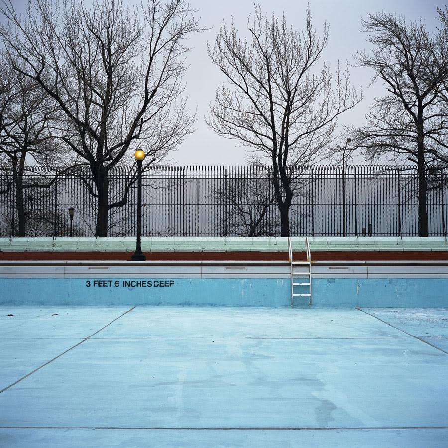 Highbridge Park Pool, Manhattan,  2011 Photograph 20 x 20 inches  Inquire