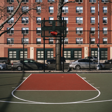 Flynn Brothers Playground, Bronx,  2008 Digital C-Print  Inquire