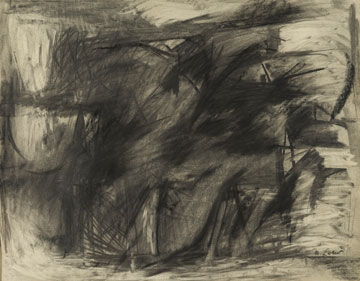 Untitled No. 2,  1959  Watercolor on paper  16 x 22 1/2 inches