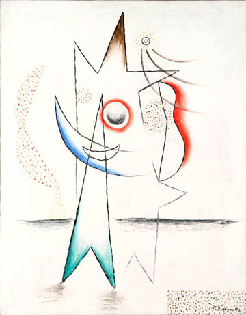 Abstract figure on white