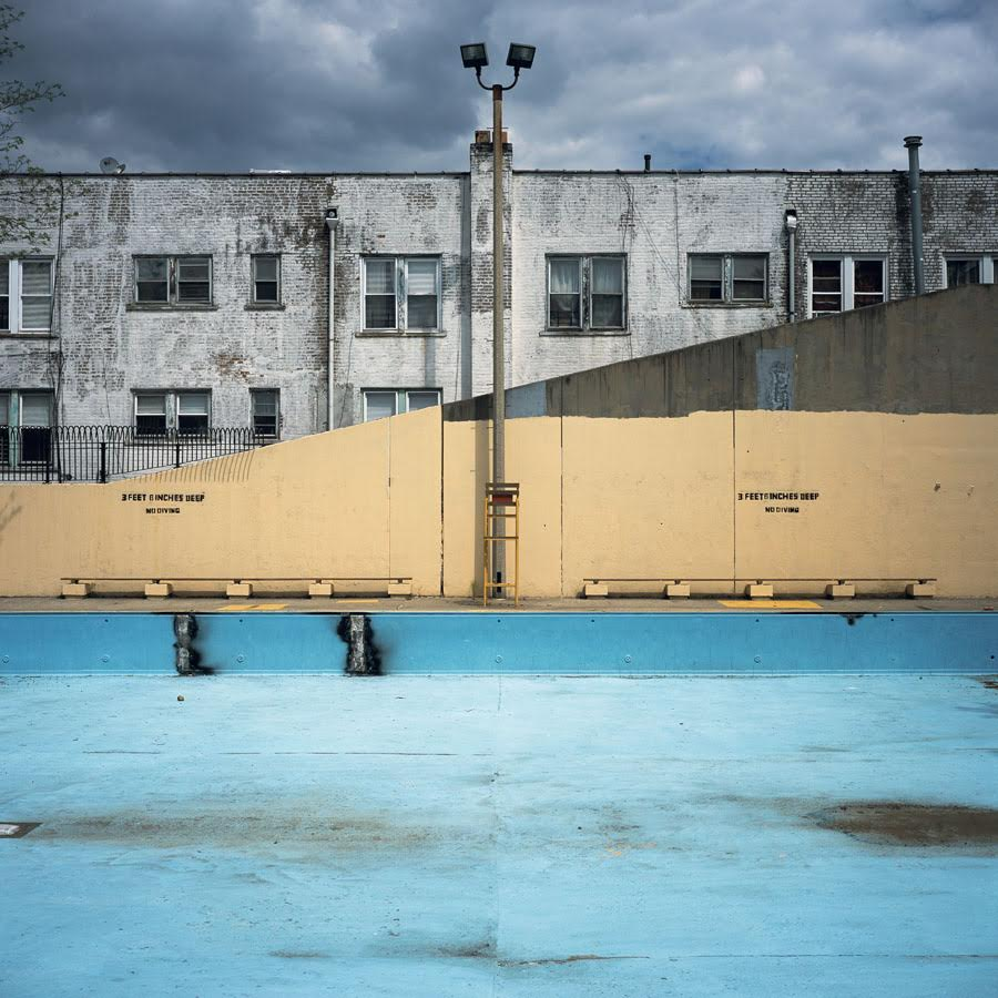 Photo of empty pool