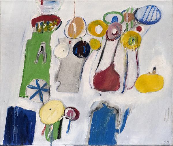 Winter,  1967 Oil on canvas 18 x 21 inches  Inquire