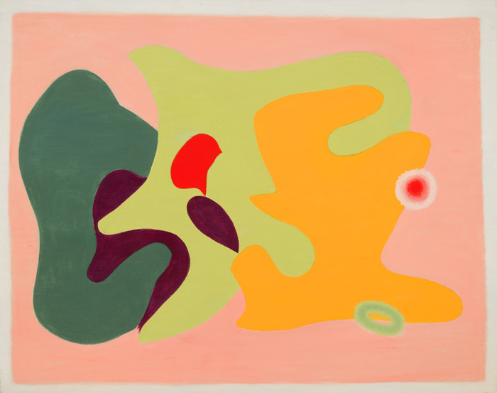 Untitled , c. 1967 Oil on canvas board 24 x 30 inches  Inquire