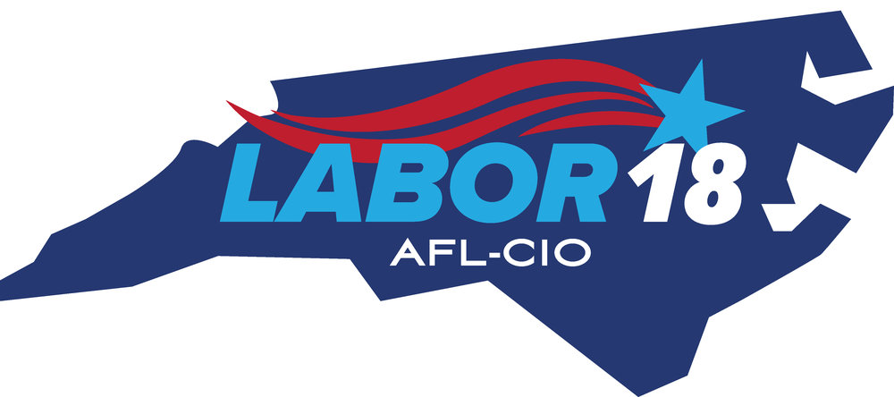Endorsed by - Eastern North Carolina Central Labor Council and the North Carolina State AFL-CIO