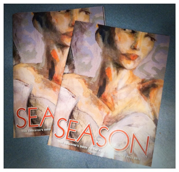 Cover of Season Magazine, 2013