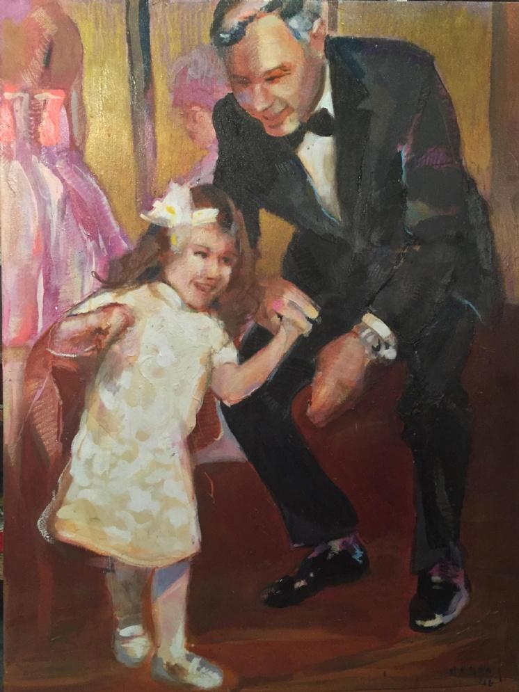 Tim Jaeger, Father Daughter Dance, 2015