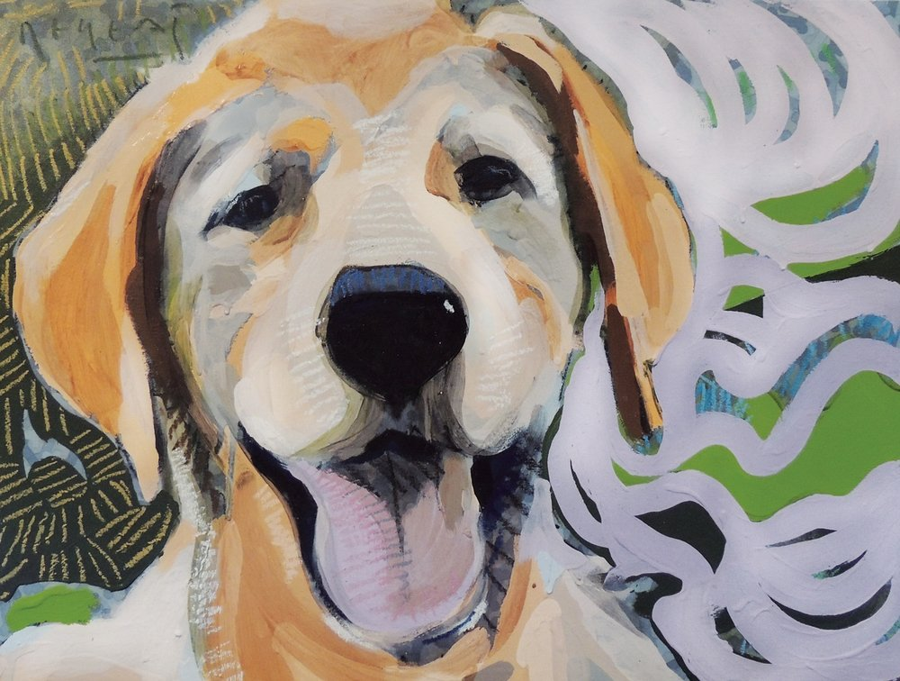 "Tim Jaeger, ""Happiness""/May- Southeast Guide Dogs 2016 Calendar"