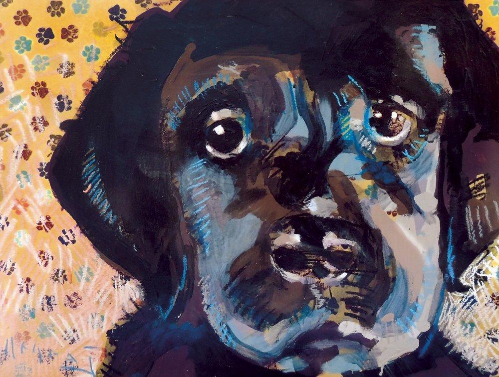 "Tim Jaeger, ""Hope""/August- Southeast Guide Dogs 2016 Calendar"