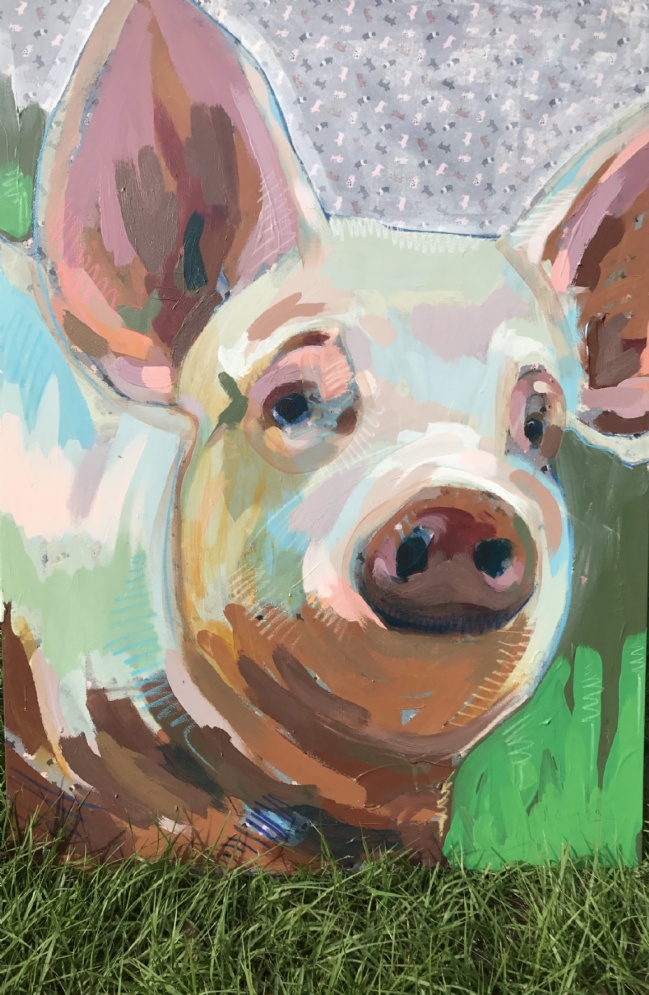 Tim Jaeger, Oink no. 15, 2017