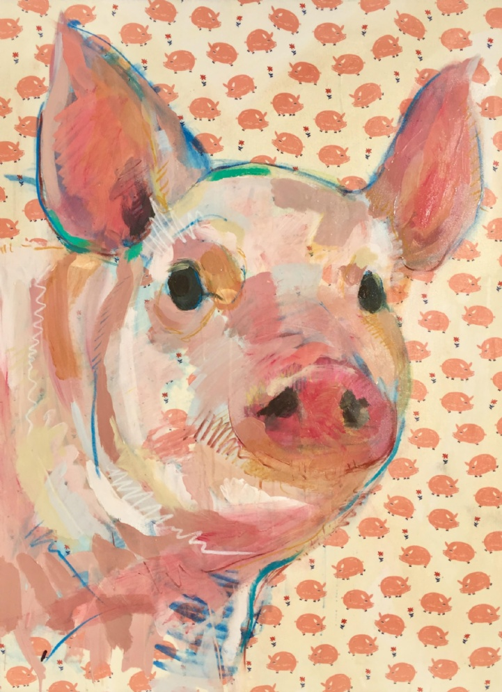 TIM JAEGER OINK NO. 10, 2017