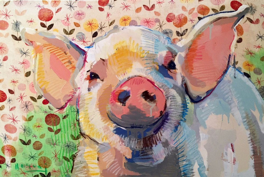 Tim Jaeger, Oink no. 6, 2016