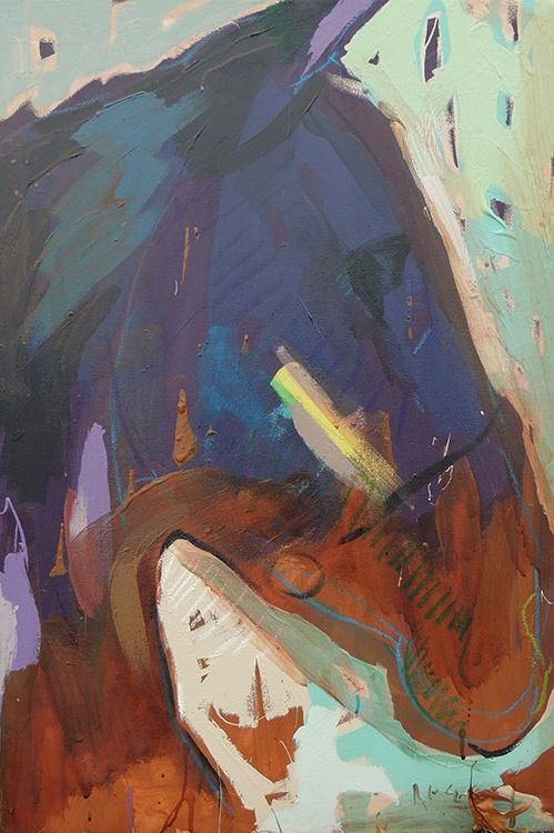 Tim Jaeger, Violet Shuffle-Gate no. 24, 2014