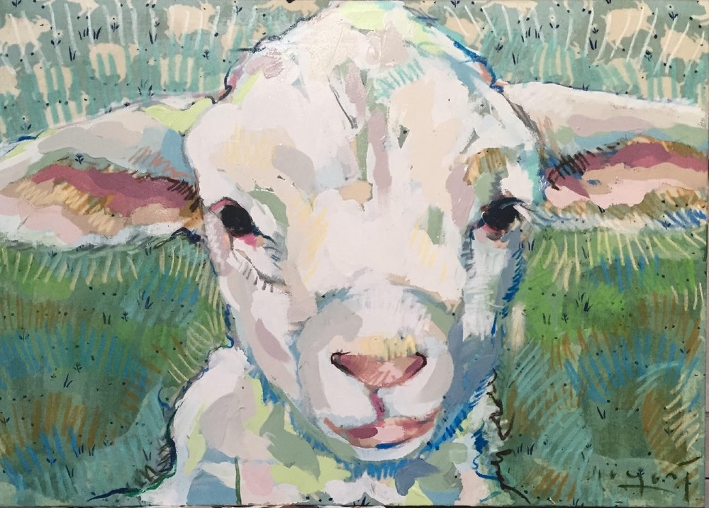 Tim Jaeger, Lamb no. V, 2016
