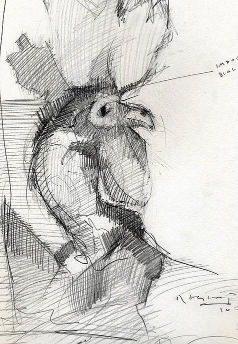 Tim Jaeger, Chicken Scratch #4, 2010