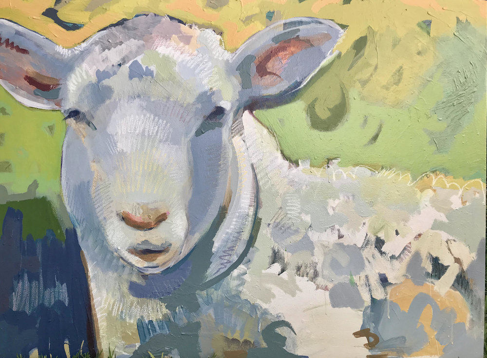 Tim Jaeger, Sheep XII, 2018