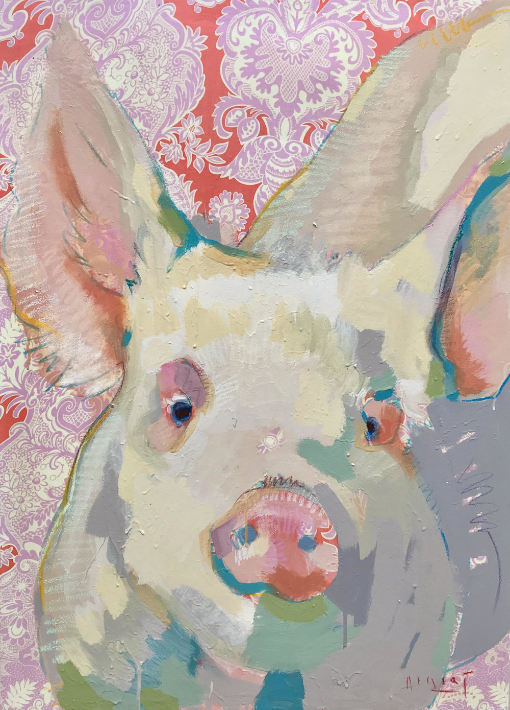 Tim Jaeger, Oink no. 16, 2018