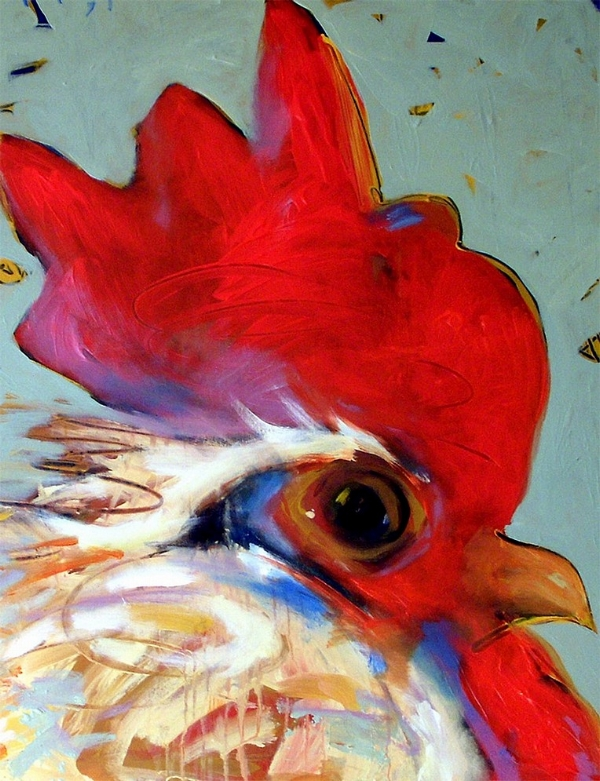 Tim Jaeger, First Rooster of Moncaret, 2006