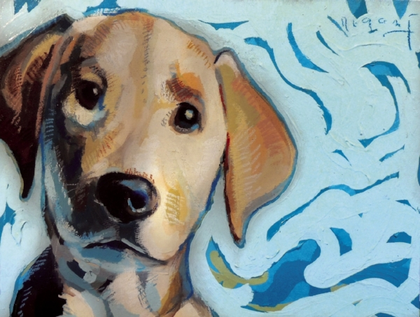 "Tim Jaeger, ""Inspiration""/January- Southeast Guide Dogs 2016 Calendar"