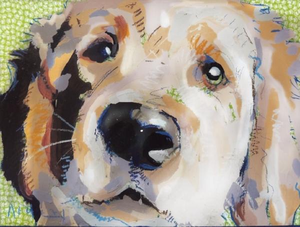 "Tim Jaeger, ""Friendship""/March- Southeast Guide Dogs 2016 Calendar"