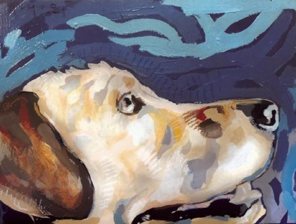 "Tim Jaeger, ""Freedom""/November- Southeast Guide Dogs 2016 Calendar"