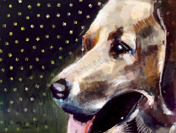 "Tim Jaeger, ""December""/Joy- Southeast Guide Dogs 2016 Calendar"