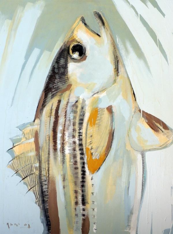 Tim Jaeger, Striped Bass, 2015