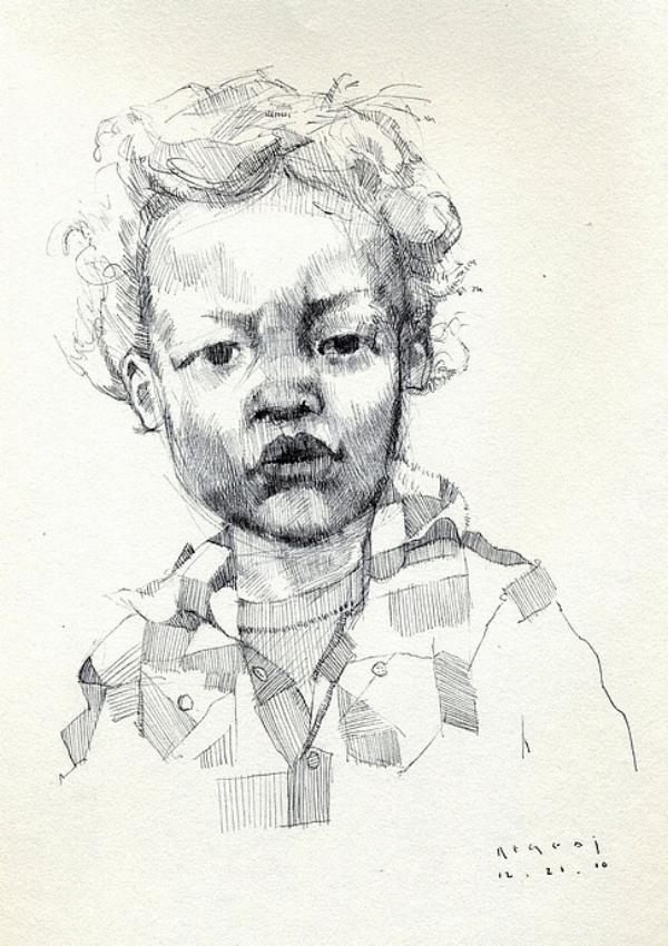 Tim Jaeger, Jett Sketch 1, 2010