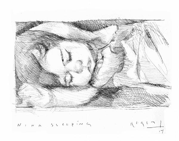 Tim Jaeger, Nina Sleeping, 2014