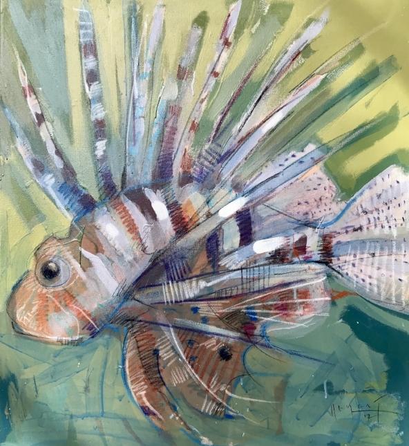 Tim Jaeger, Lionfish no. IV, 2017